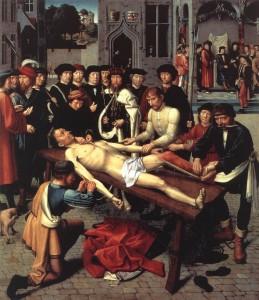 '시삼네스의 처형', 헤라르트 다비트, 의 오른쪽 패널.