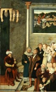 [도판 5] 대(大) 루카스 크라나흐의 공방, , 1540년경, 패널에 유채, 베를린 국립박물관(회화 갤러리).