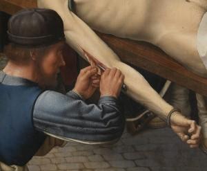 [도판 6] 도판 2의 세부, 껍질이 벗겨지는 시삼네스의 팔.