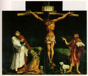 마티아스 그뤼네발트,  1512-16년경, 콜마르 운티린덴 박물관
